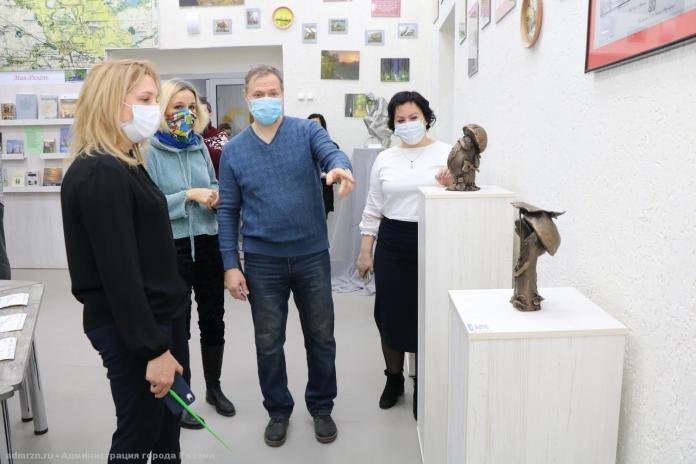 Рязань украсят скульптуры «грибов с глазами»