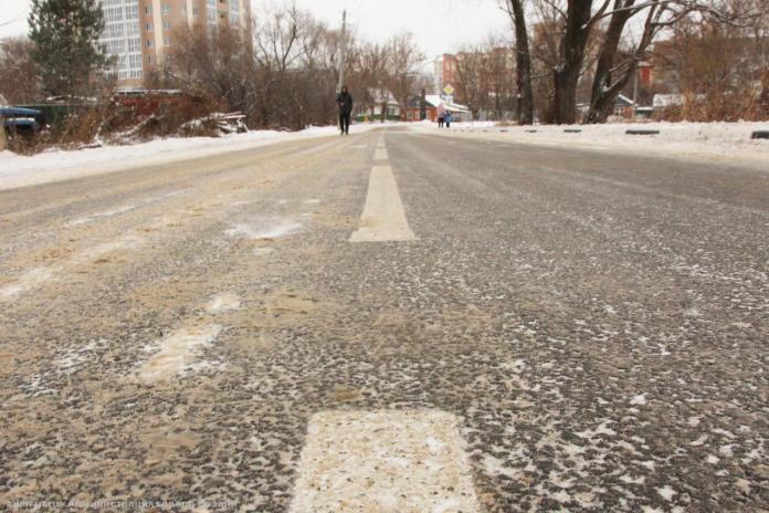 В Рязани отремонтировали улицу Мервинскую