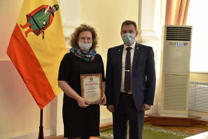 Николай Любимов вручил членам экспертного совета знаки губернатора Рязанской области