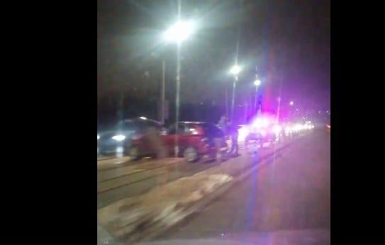 На Северной окружной в Рязани произошло массовое ДТП