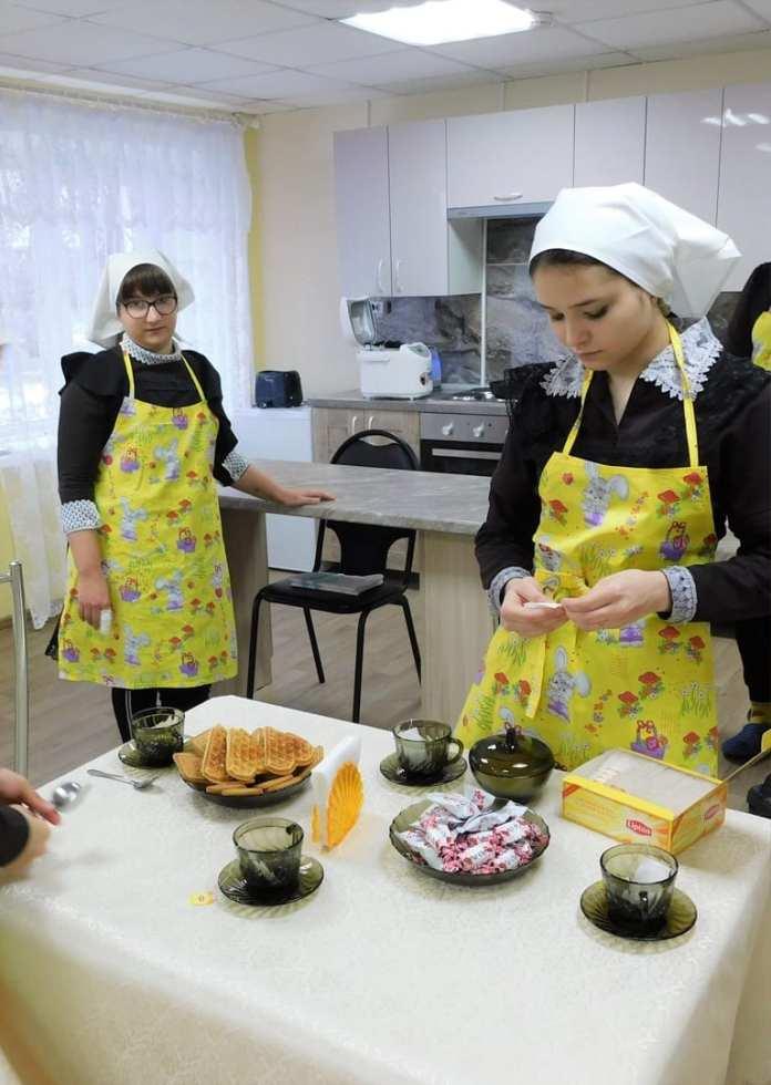 Фонд «ПроДетство» оборудовал комнату социально-бытовой адаптации для воспитанников Шацкой школы-интерната