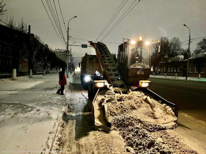 Рязанцы пожаловались на плохую уборку снега в Недостоеве и на улице Забайкальской