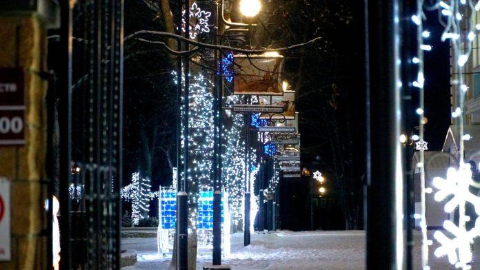 Все январские праздники в Касимове будет работать новогоднее радио