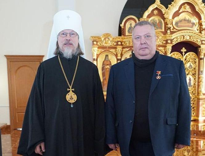 Николаю Плетнёву вручили медаль благоверного князя Романа Рязанского III степени