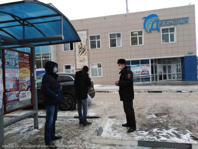 В Рязани прошли рейды по соблюдению масочного режима
