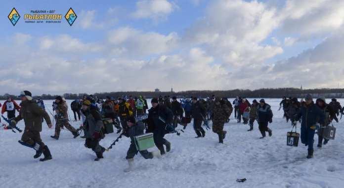 В Рязани пройдёт чемпионат по зимнему рыбатлону