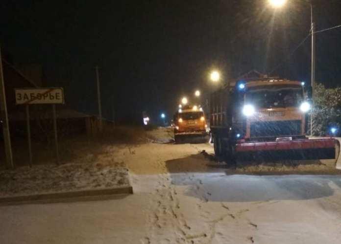 С улиц Рязани за одну ночь вывезли 6000 кубических метров снега