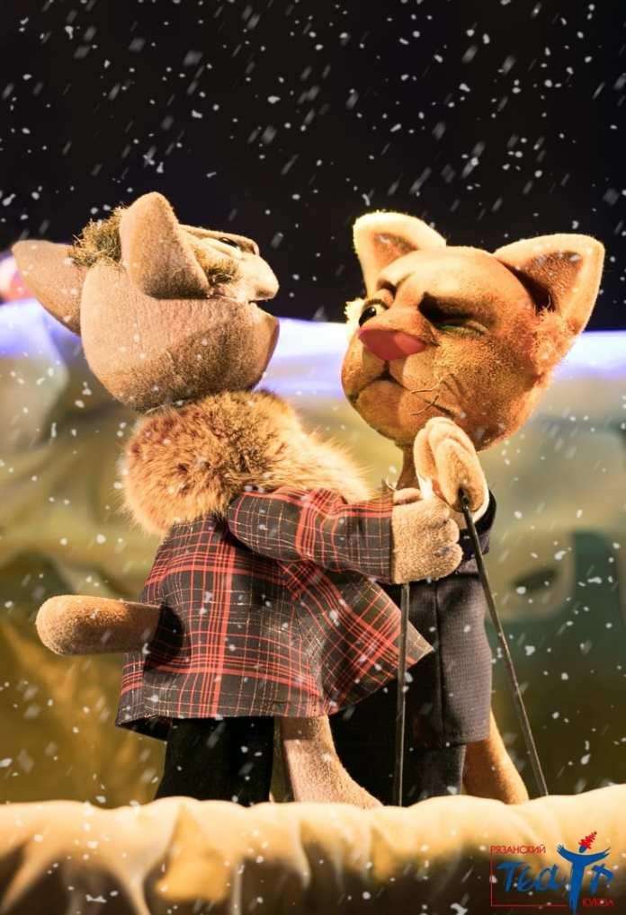 В Рязанском театре кукол показали новогоднее представление