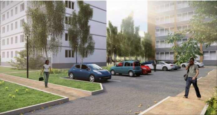 Рязанцам представили концепцию благоустройства квартала в центре города