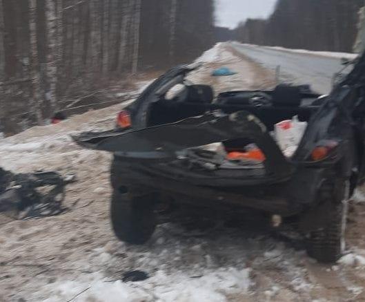 В ДТП в Клепиковском районе погибли два человека