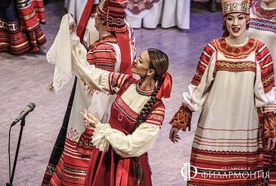 Рязанский хор подарил зрителям жизнеутверждающую программу «Коляды даръ»