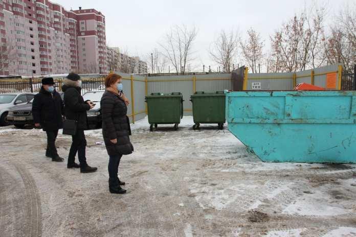 Елена Сорокина поручила лучше убирать дворы в Рязани