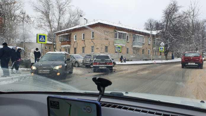В Горроще произошло массовое ДТП