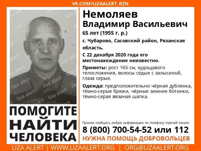 В Рязанской области уже третью неделю ищут 65-летнего мужчину