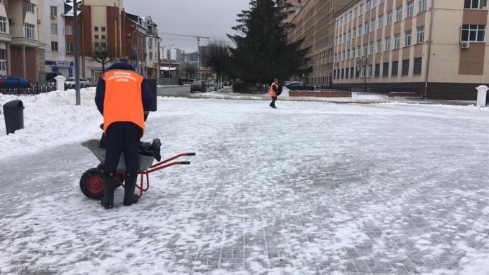 За ночь с улиц Рязани вывезли 5000 кубометров снега