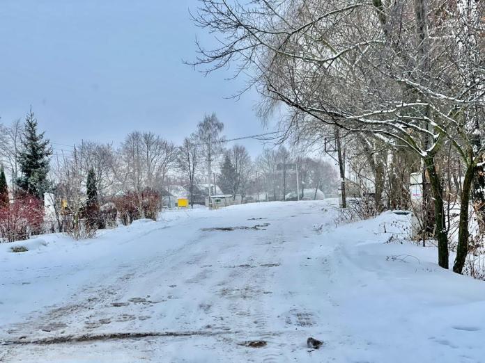 Мэрия Рязани показала процесс уборки снега в отдаленных районах города
