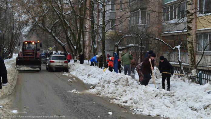 В Рязани прошла масштабная уборка города