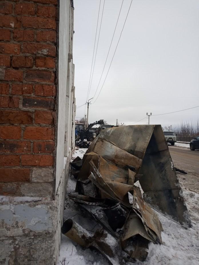 В Касимове уцелевшие конструкции сгоревшего архитектурного памятника изучили реставраторы