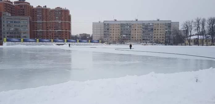 Где в Рязани и окрестностях можно покататься на лыжах и коньках?