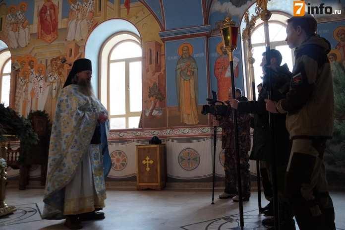 В Спасо-Преображенском Пронском мужском монастыре готовятся к Богоявлению