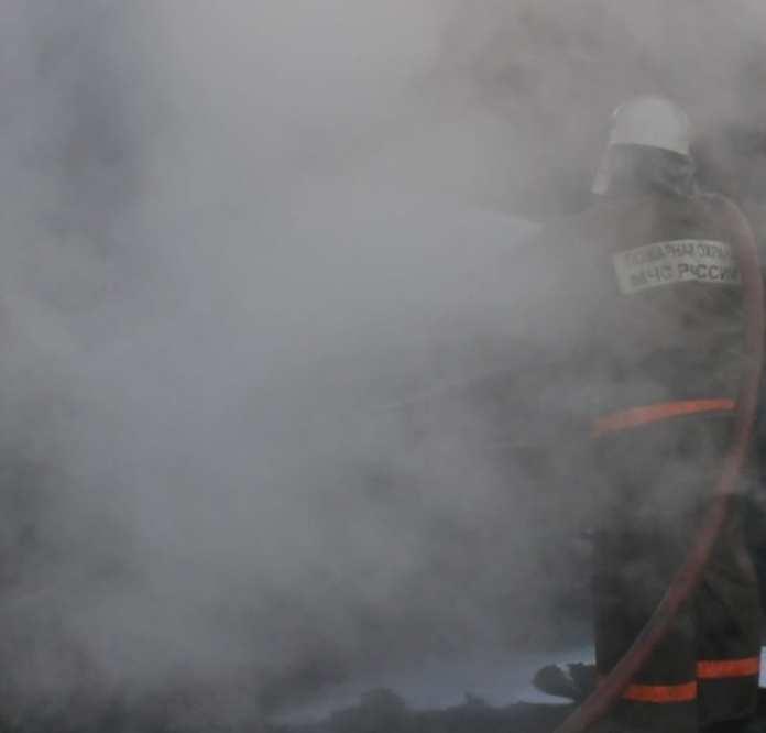 В Рязанской области случился пожар с пострадавшим