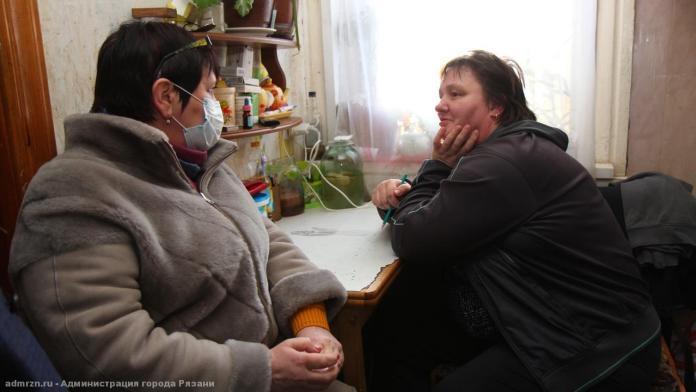 После поручения Сорокиной сотрудники администрации лично встретились с рязанкой-инвалидом