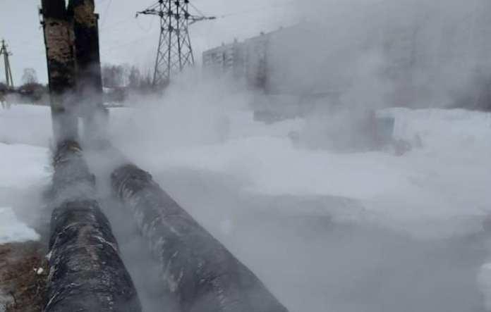 В Рязани устранили аварию на теплосетях в Недостоево