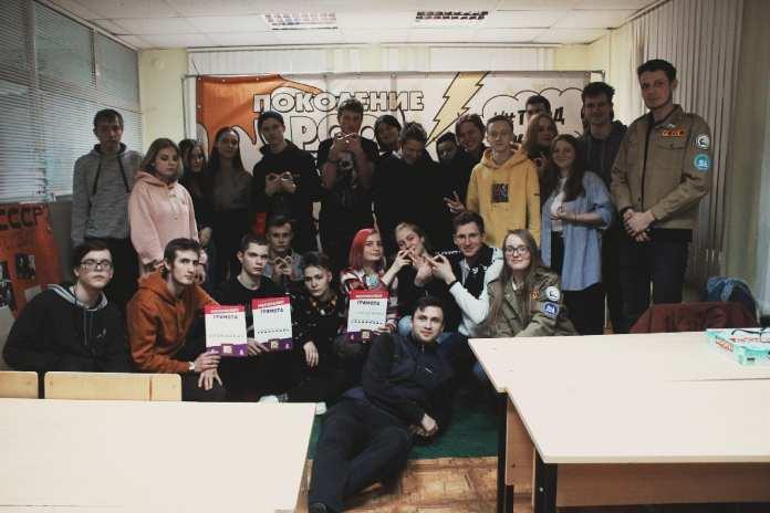 Студенческий отряд Рязанского колледжа электроники покоряет города России