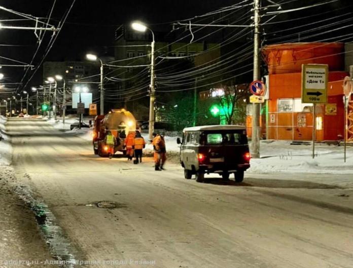 Дополнительную аварийную бригаду собрали в Рязани для ремонта дорог