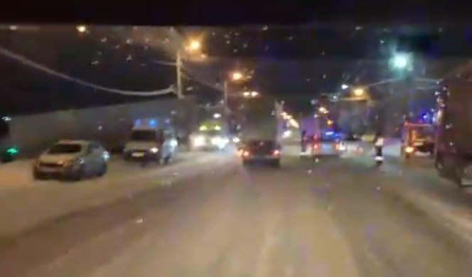 На выезде из Рязани произошло смертельное ДТП