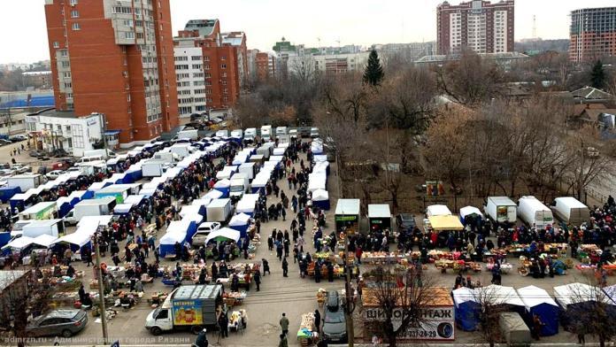 В Рязани продолжают работу ярмарки выходного дня