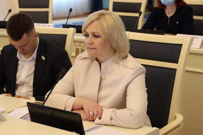 Детский омбудсмен отчиталась перед депутатами Рязанской областной Думы