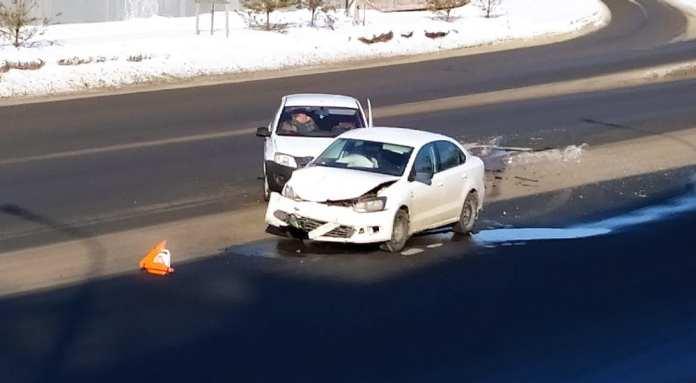 На Куйбышевском шоссе в Рязани произошло серьёзное ДТП