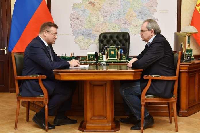 Любимов обсудил с советником президента взаимодействие граждан с региональными властями