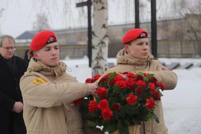 Память жертв политических репрессий почтили в Рязани