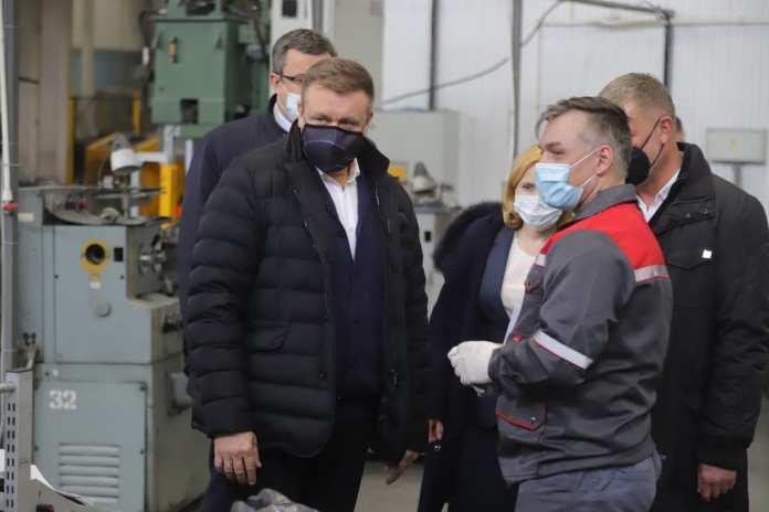 """Николай Любимов посетил завод ООО """"БОРДЕР"""""""
