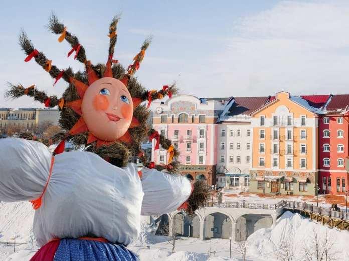 Рязанцы попрощаются с зимой у «Старого Города»