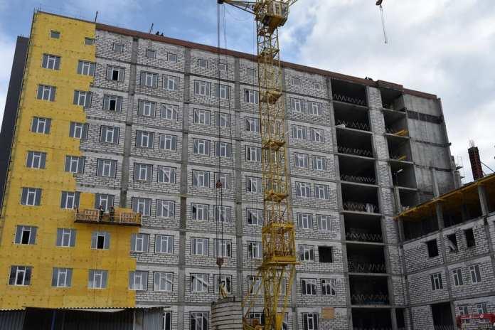 В Рязани продолжается строительство онкодиспансера