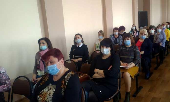 Елена Митина встретилась с педагогами Михайловского района