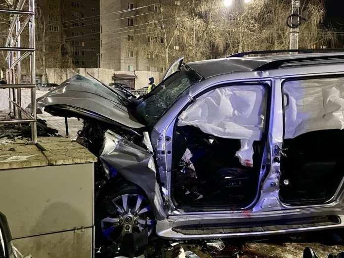 Момент смертельного ДТП с уходящим от погони автомобилем в Великом Новгороде попал на видео