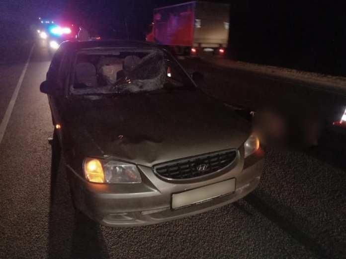 В Шиловском районе Hyundai Accent насмерть сбил 60-летнего мужчину