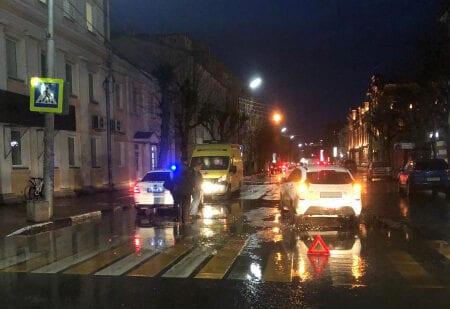 В Рязани автомобиль сбил 12-летнего велосипедиста