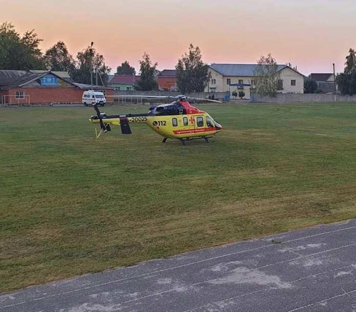 За сутки вертолет санавиации трижды вылетал в районы Рязанской области