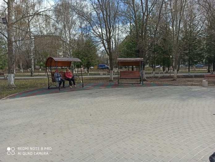В Новомичуринске благоустроили сквер на проспекте Смирягина