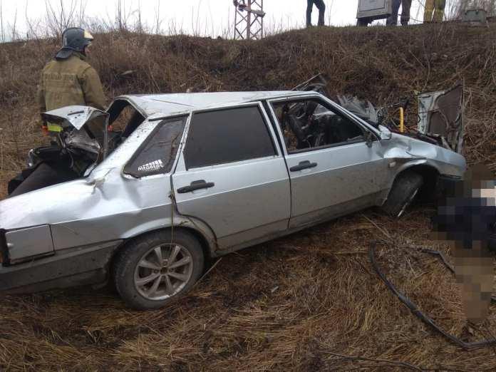 В Скопинском районе легковушка попала под поезд, водитель погиб