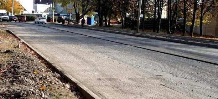 Ремонт Народного бульвара в Рязани возобновят в ближайшее время