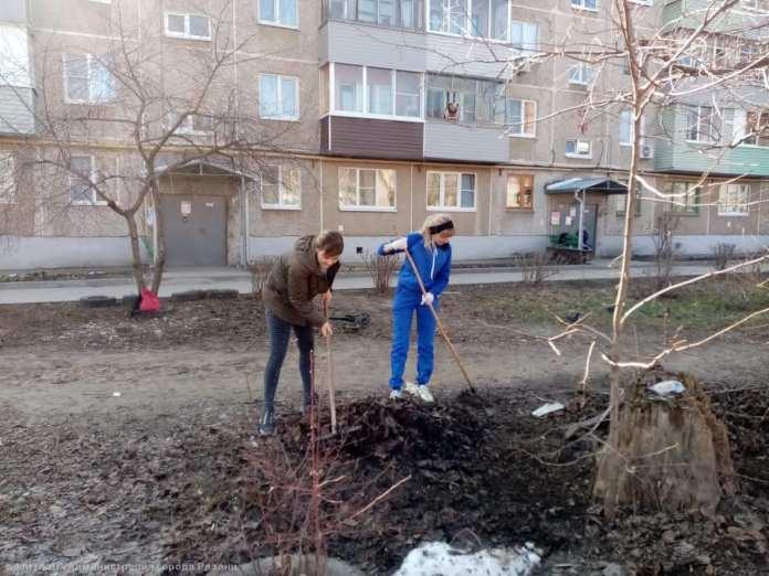 ТОСы и активисты присоединились к уборке рязанских улиц