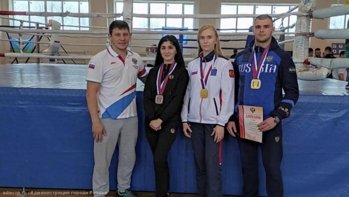 Рязанские борцы завоевали четыре медали на Чемпионате России