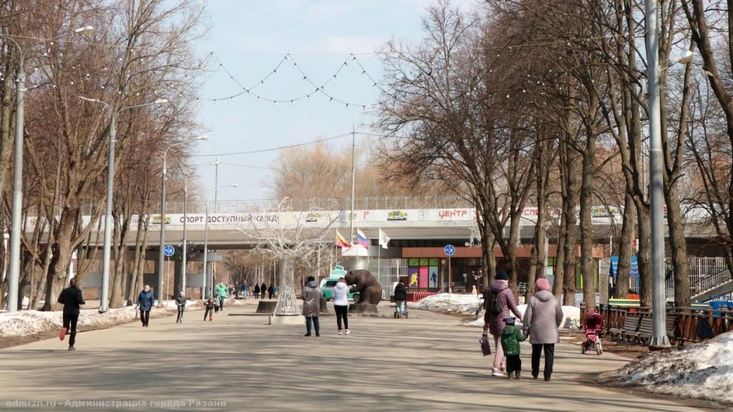 Рязанский Лесопарк продолжат благоустраивать в 2022 году