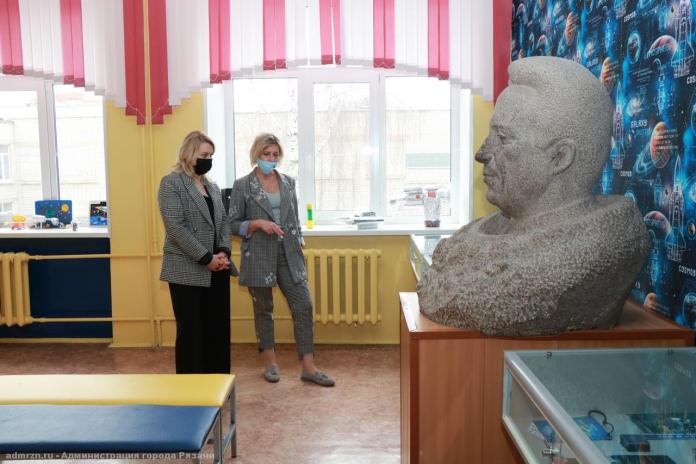 Зам главы администарции Рязани приняла участие в мероприятие, посвящённом Дню космонавтики